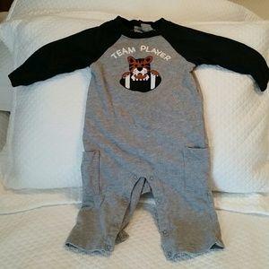 Boy longlseeve onesie outfit